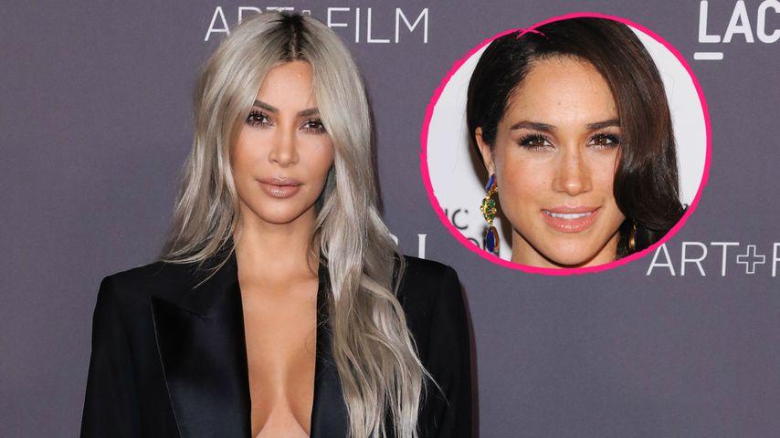 Royal-Fan? Kim Kardashian will Meghan Markles BFF werden!