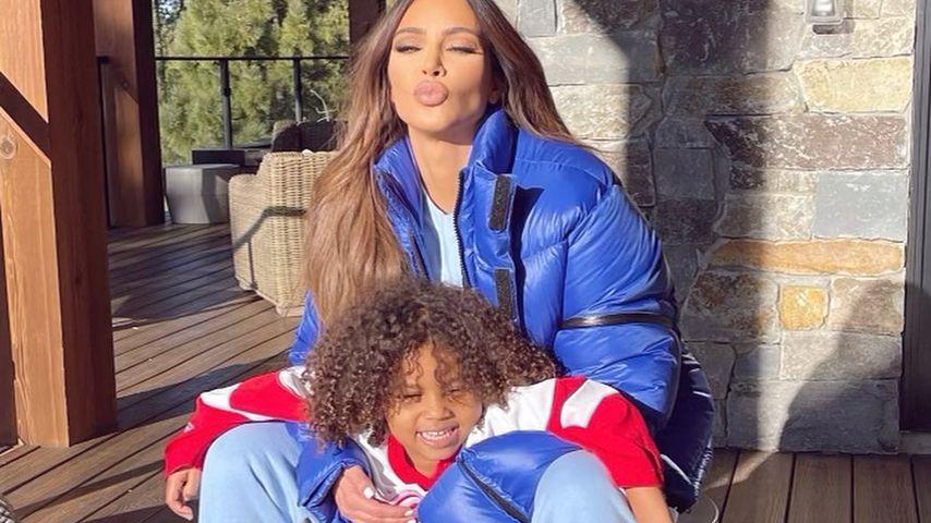 Kim Kardashian und Saint West im Dezember 2020