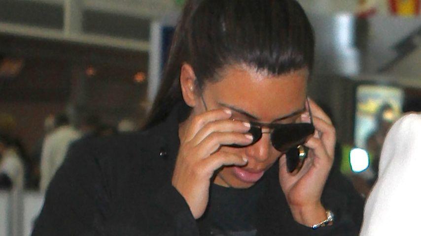 Kim Kardashian am New Yorker Flughafen