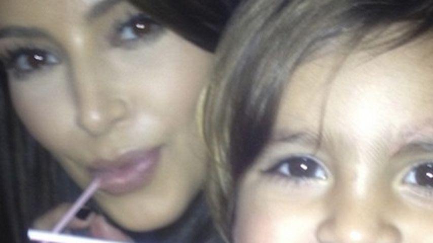 Tolle Tante! Kim Kardashian hütet Kourtneys Kids