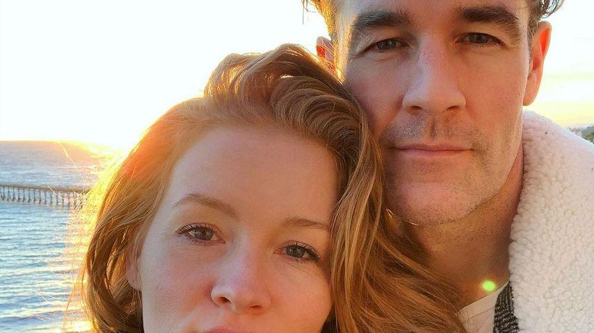 Kimberly und James Van Der Beek