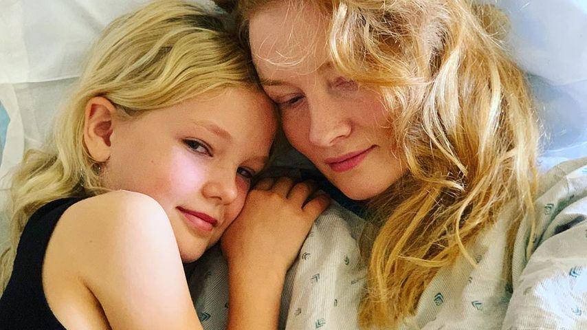 Kimberly Van Der Beek und ihre Tochter