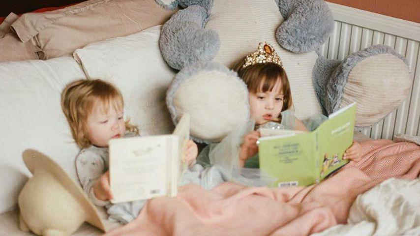 Kimberly Wyatts Töchter Willow und Maple
