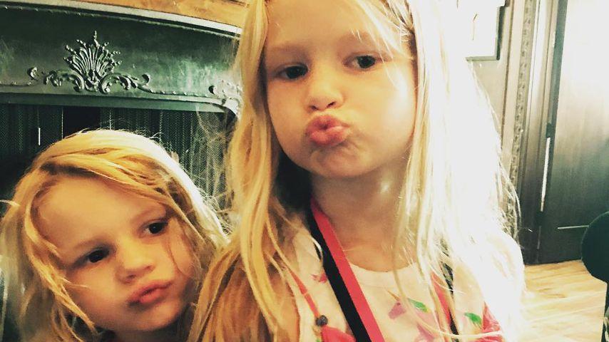 Jessica Simpsons Sohn Ace Knute und ihre Tochter Maxwell Drew