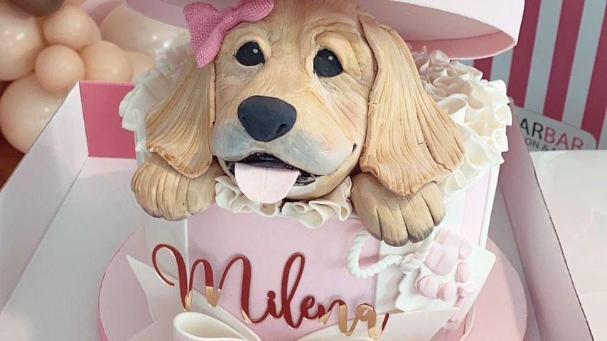 Kisus Torte für Milenas ersten Geburtstag