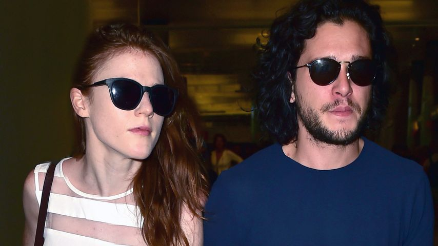 Liebes-Comeback? Rose Leslie & GoT-Kit total innig