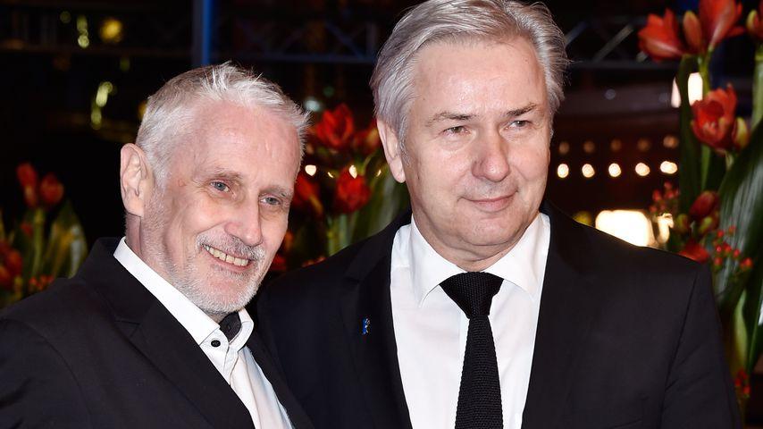 Klaus Wowereit (rechts) und sein Partner Jörn Kubicki