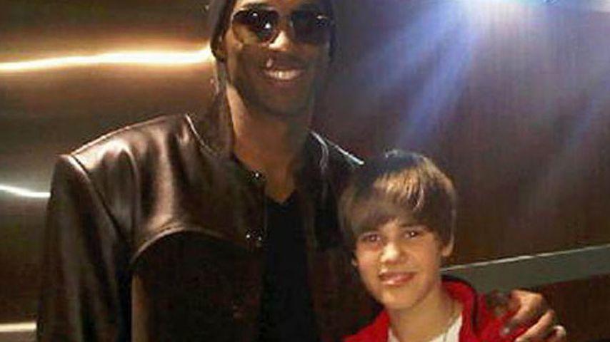 Kobe Bryant und Justin Bieber