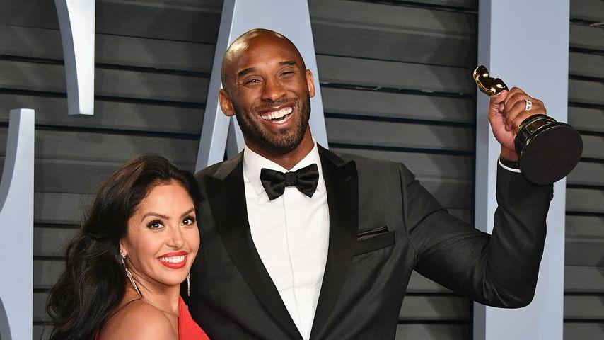 Kobe Bryant und seine Frau Vanessa bei der Vanity Fair Oscar-Party