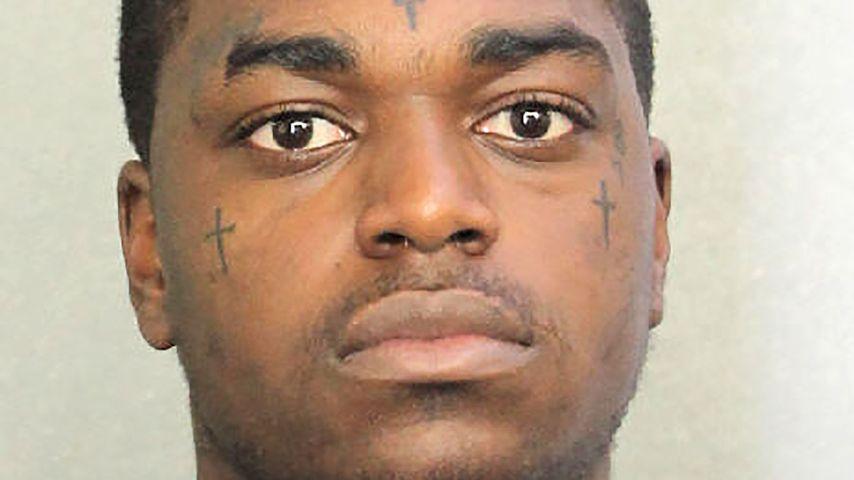 Kodak Black bei seiner Verhaftung im Jahr 2017