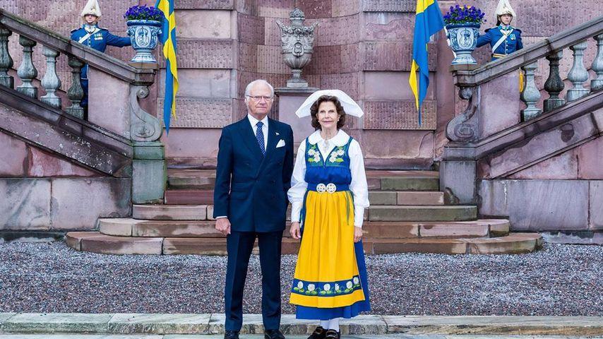 König Carl Gustav und Königin Silvia von Schweden