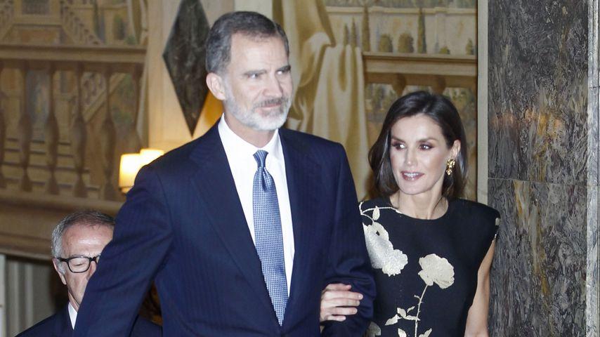 """König Felipe und Königin Leitizia bei den """"Francisco Cerecedo"""" Journalism Awards"""