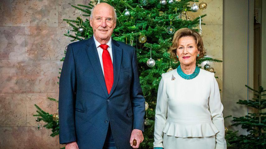 König Harald und Königin Sonja von Norwegen