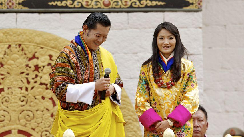König Jigme und seine Frau Königin Jetsun, Oktober 2011