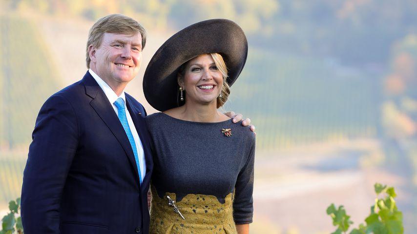 König Willem-Alexander und Königin Maxima der Niederlande bei ihrem Deutschland-Besuch