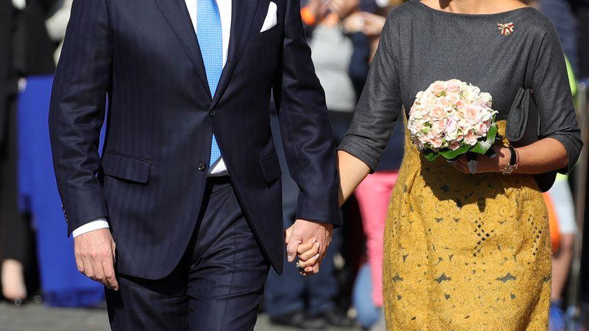 König Willem-Alexander und Königin Maxima der Niederlande in Mainz 2018