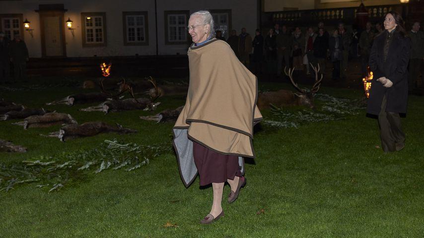 Königin Margrethe und Kronprinzessin Mary in Fredensborg, November 2019
