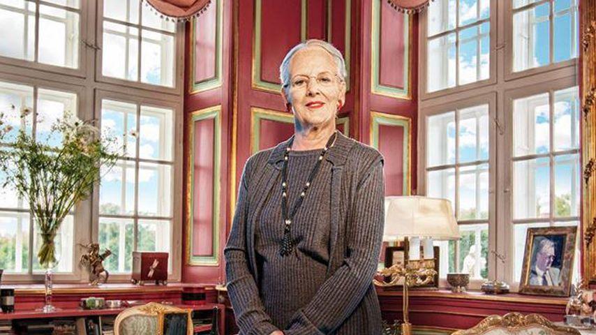 Königin Margrethe von Dänemark anlässlich ihres 80. Geburtstages