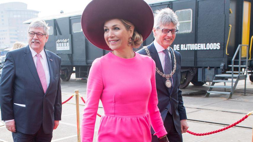 Pretty in Pink! Königin Maxima überstrahlt mit ihrem Look