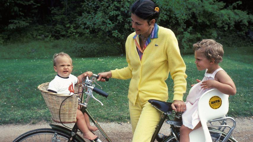 Prinz Carl Philip von Schweden, Prinzessin Victoria von Schweden und Königin Silvia von Schweden