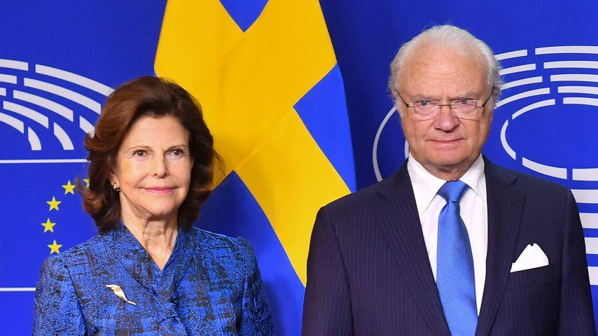 Königin Silvia und Carl Gustaf von Schweden