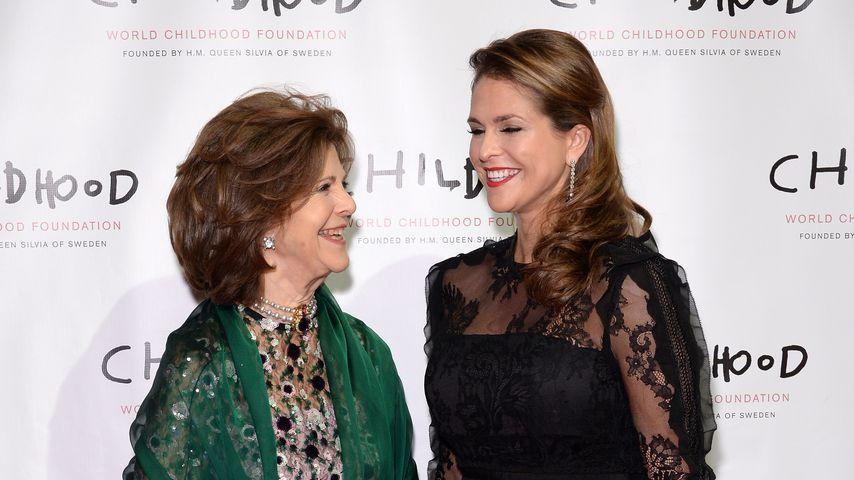 Königin Silvia und Prinzessin Madeleine in New York