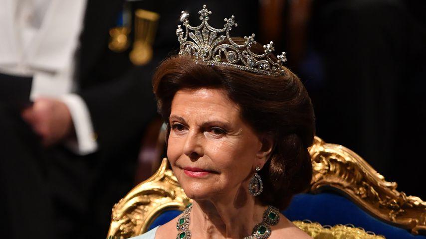 Noch angeschlagen: Königin Silvia zeigt sich nach Unfall