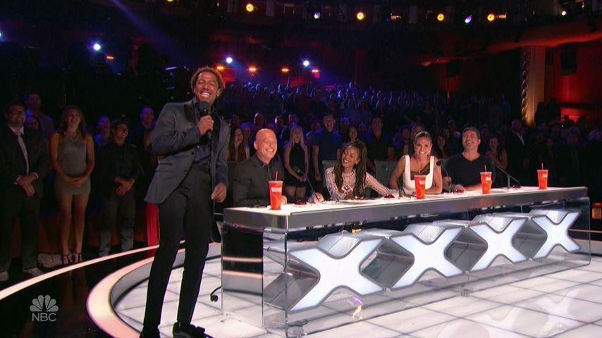 "Nick Cannon, How Mandel, Mel B., Heidi Klum und Simon Cowell bei ""America's got Talent"""