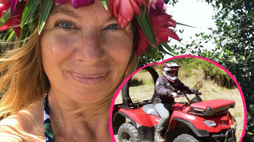 Während Quad-Tour: Manuela Reimann hat schlimmen Unfall