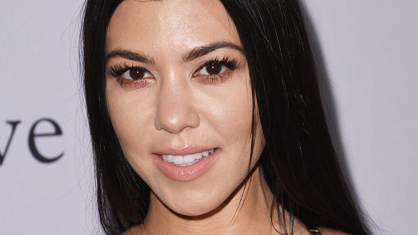 Heißes Nacktbild: Kourtney Kardashian zieht für Fans blank!