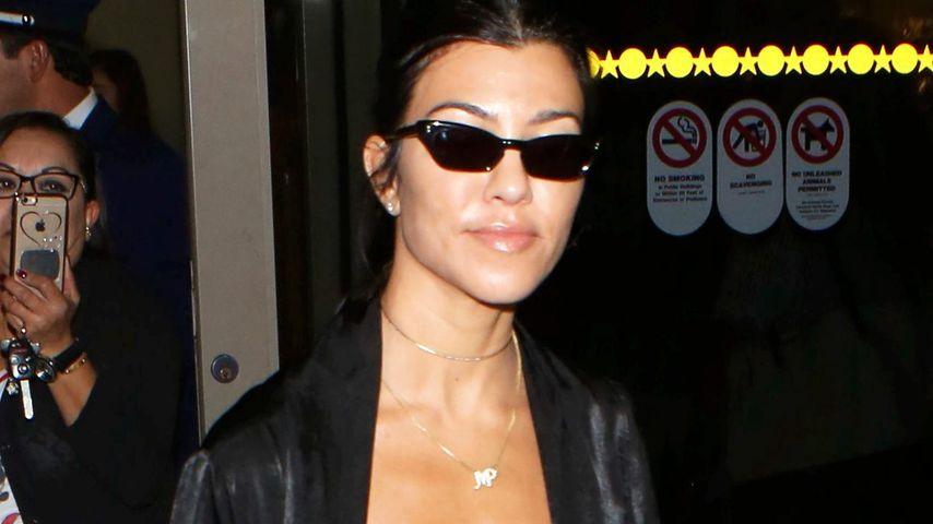 Kourtney Kardashian auf dem Flughafen von Los Angeles