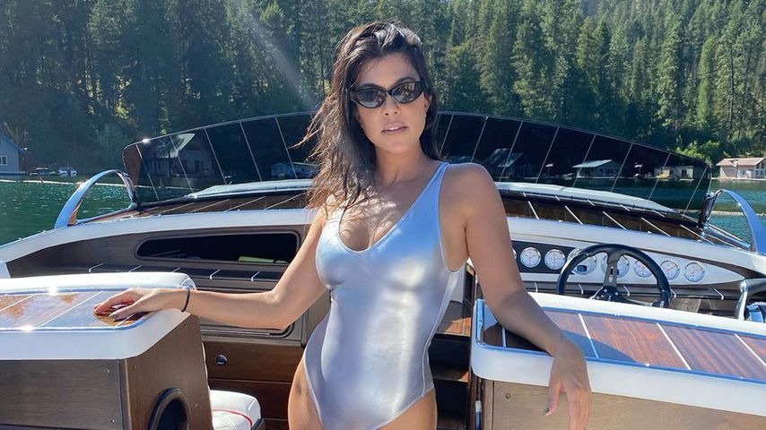 Kourtney Kardashian, August 2020