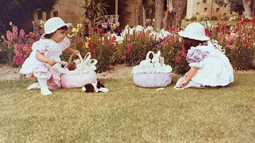 Oster-Spaß: So suchten die Kardashians als Kleinkinder Eier!