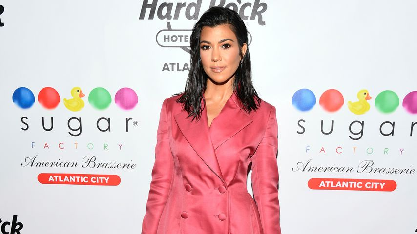 Kourtney Kardashian bei einer Veranstaltung in Atlantic City, Juli 2018