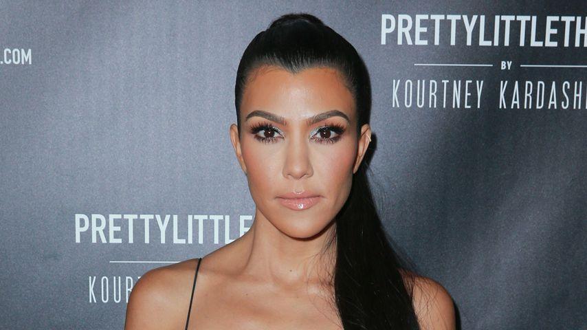 Kourtney Kardashian in Los Angeles