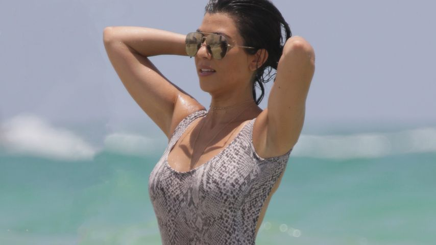 Kourtney Kardashian in Miami