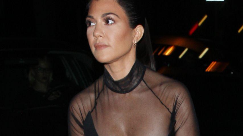 Herzige Aussichten: Kourtney Kardashians sexy Boobie-Fail