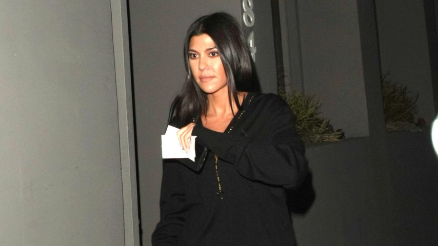Kourtney Kardashian in West Hollywood