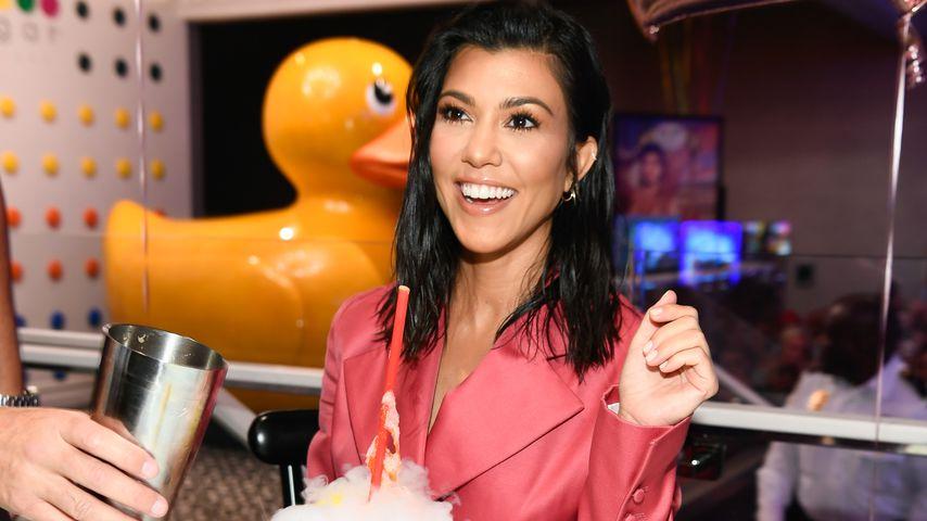 Kourtney Kardashian im Juli 2018