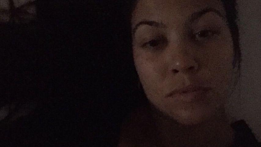 Ohne Filter, ohne alles: Kourtney Kardashian unverfälscht