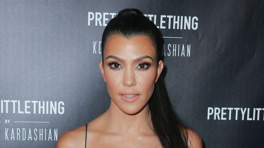 Kourtney Kardashian reagiert auf Schwangerschaftsgerüchte