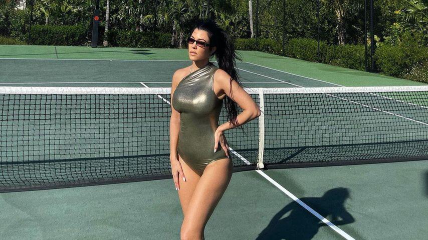 Kourtney Kardashian im Februar 2021
