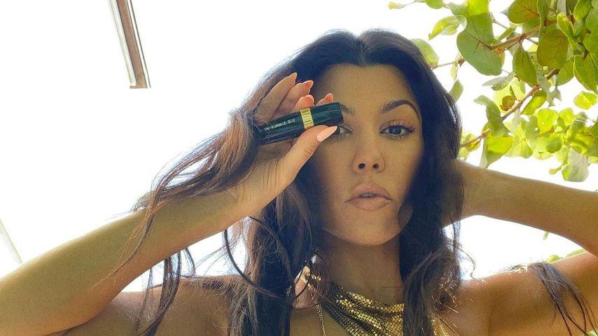 """Kourtney Kardashian, """"Keeping up with the Kardashians""""-Star"""