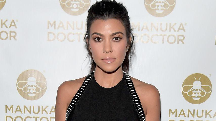 Protz-Foto nach Überfall: Shitstorm für Kourtney Kardashian