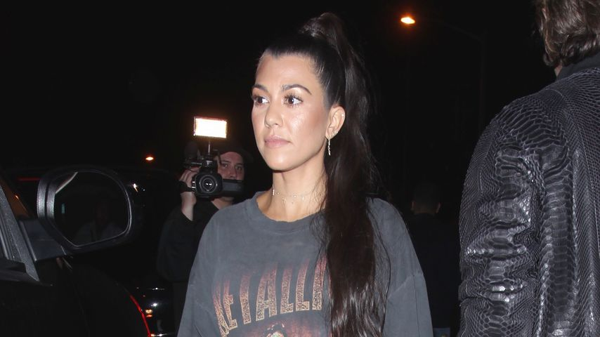 "Kourtney Kardashian beim Verlassen des Restaurants ""Catch"" in L.A."