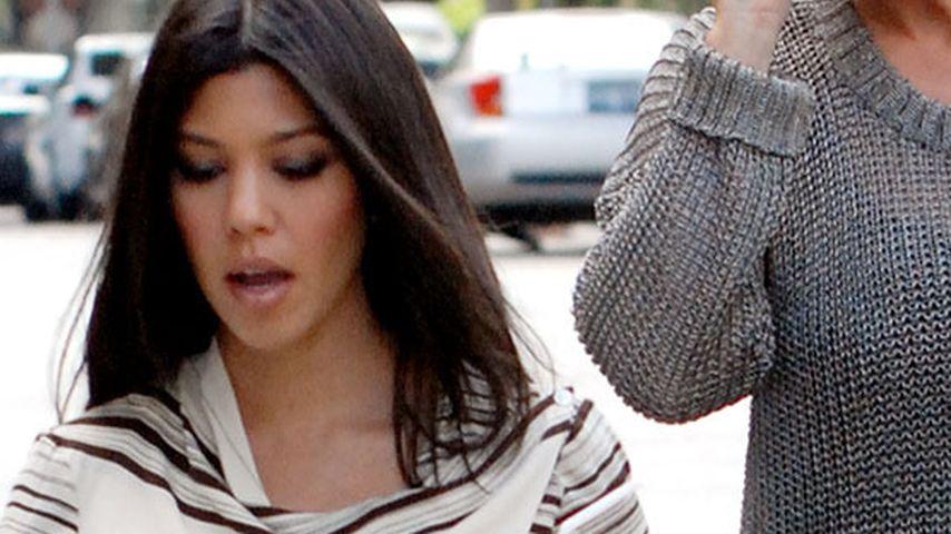 Kourtney Kardashian: Zoff mit Mutter um Penelope