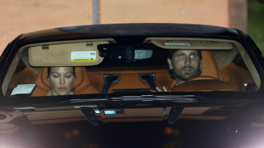 Kourtney Kardashian und Scott Disick in Malibu im August 2020