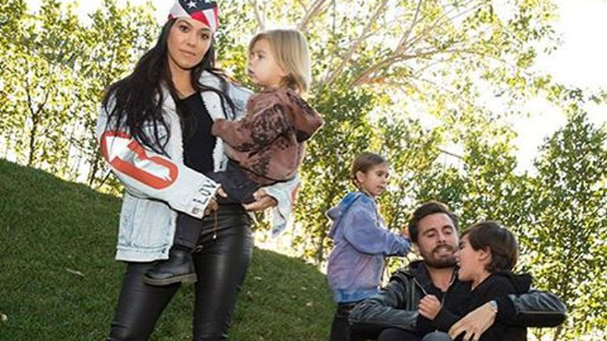 Glücklich vereint! Kourtney Kardashians süßes Familien-Foto