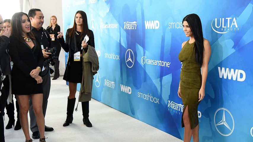 "Kourtney Kardashian beim ""WWD And Variety inaugural stylemakers' event"""