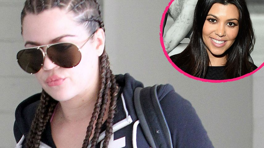 "Khloe Kardashian: ""Kourtney war eine echte B*tch!"""